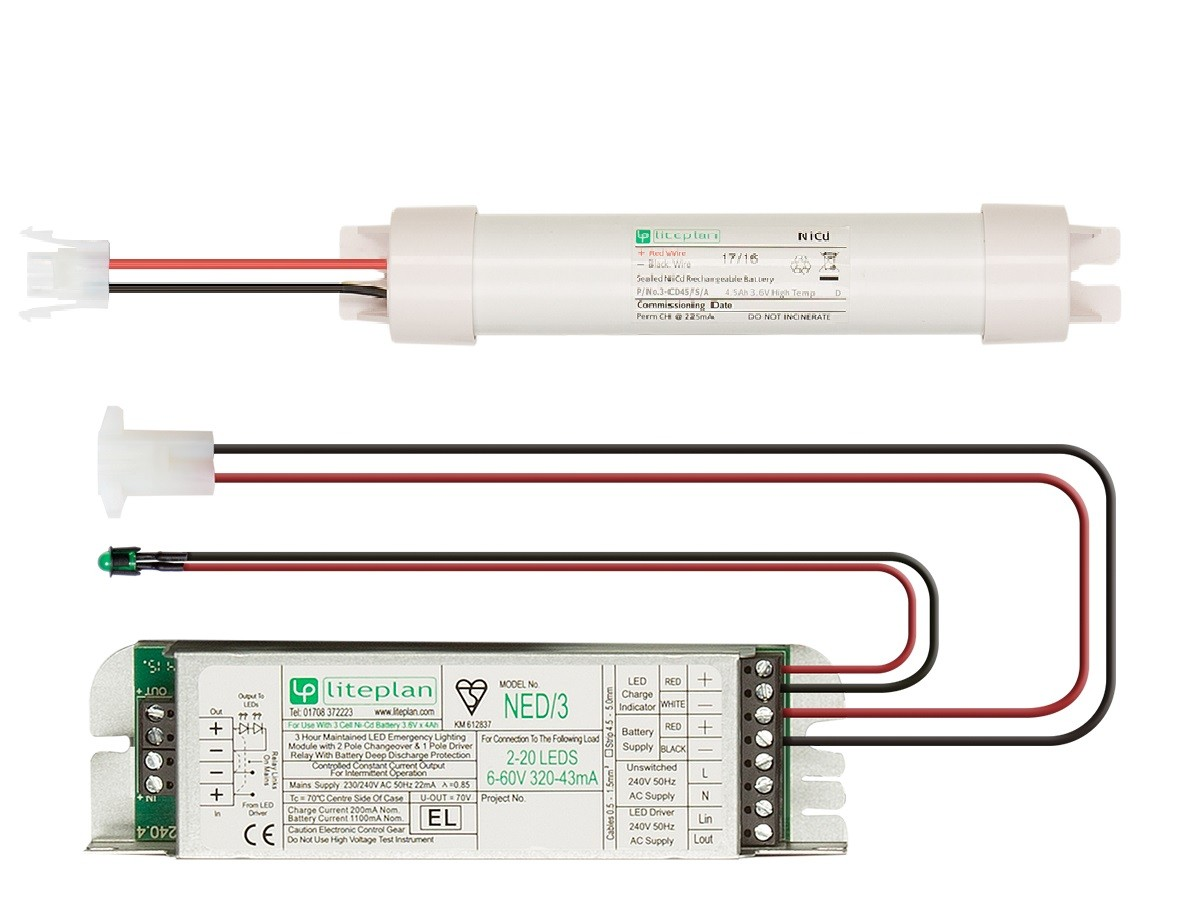 Conversion Kits For Led Loads Liteplan Emergency